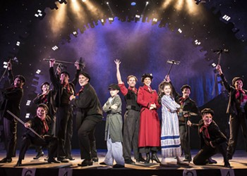 """Virginia Repertory's """"Mary Poppins"""" is Theatrical Magic at Its Best"""