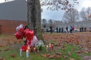 Vigil for murdered teenagers