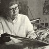 Richmond landscape painter Nell Blaine was an early contributor to the Village Voice