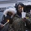 Scenes from the Robert Fox Vigil