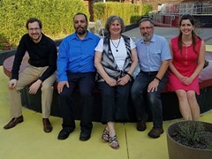 Meet Heavy Shtetl! Peter Sims, Malik Riley, Marcy Horwitz, Bruce Gould and Jessica Sims - Uploaded by BG
