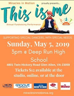 MIRACLES IN MOTION'S 2019 ANNUAL FUNDRAISING PERFORMANCE THIS IS ME May 5th, 2019 @ 3PM - Uploaded by Miracles in Motion