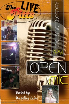 Open Mic at The Pitts with Madeline Laine - Uploaded by Lisa Ann Peters