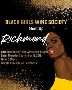 Uploaded by Black Girls Wine Society RVA