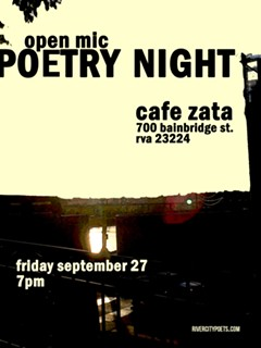 Poetry Night at cafe Zata September 2019 - Uploaded by Joanna Lee