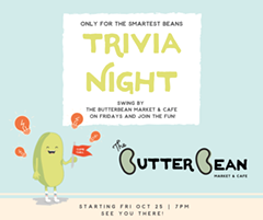 Friday Night Trivia at The Butterbean - Uploaded by sarahpentecost
