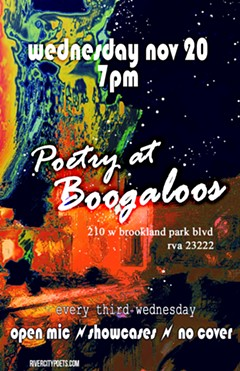poetry night at boogaloos November 2019 - Uploaded by Joanna Lee