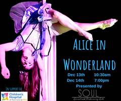 Alice In Wonderland: an Aerial Cirque Production - Uploaded by FLYNN CROSS