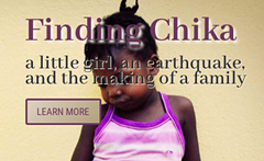 NYTimes Best Selling book Finding Chika - Uploaded by Sabet Stroman