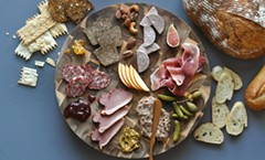 Charcuterie meat and cheese board - Uploaded by Gina Conyers