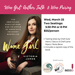 Author Talk & Wine Pairing - Uploaded by IgniteCollective