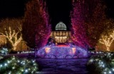Gardenfest of Lights Opening Weekend at Lewis Ginter Botanical Garden