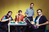 Friday Cheers: Parquet Courts with Gauche at Brown's Island