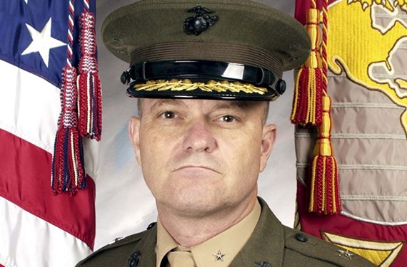 """University of Richmond's Jepson Leadership Forum presents retired Maj. Gen. Michael Lehnert for a discussion titled """"Guantánamo: When Command and the Constitution Collide"""" on Oct. 21."""