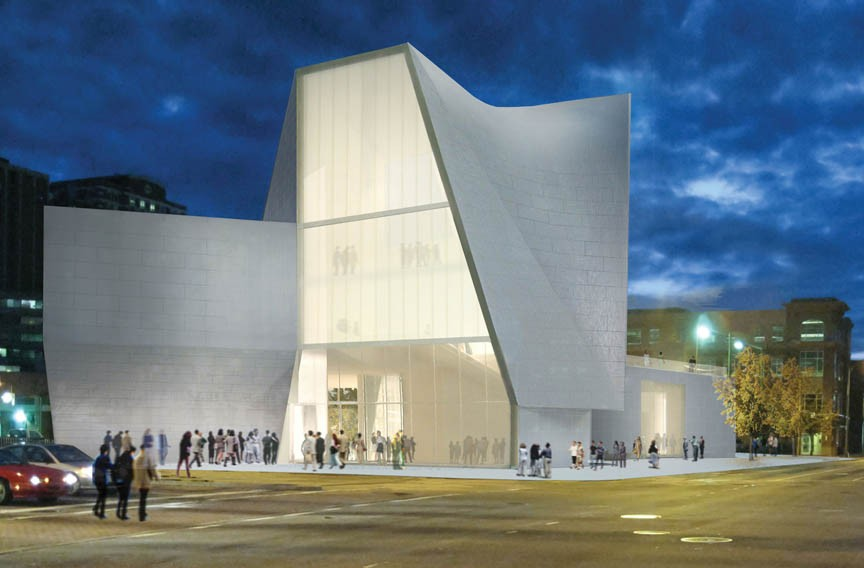 VCU's proposed Institute for Contemporary Art — also by Holl — promises to do the same for a busy Richmond street corner. - STEVEN HOLL ARCHITECTS