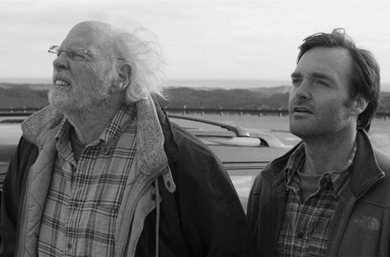 "Veteran actor Bruce Dern and ""Saturday Night Live"" alumnus Will Forte star as a Midwestern father and son team on the road to claim a million bucks — and learn about each other — in the latest from director Alexander Payne."