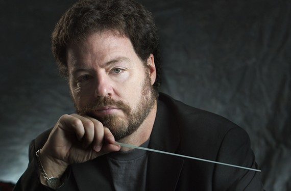 """Virginia Beach-based composer and arranger Brent Havens adapts the catalogs of famous rock bands for full orchestras. Then he travels and conducts with regional orchestras. He was surprised when the Eagles got back together — after he'd finished writing an Eagles show, he says: """"It didn't hurt us as bad as we thought it would."""" - WINDBORNE MUSIC"""