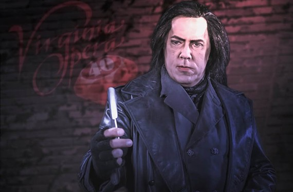 """Virginia Opera's """"Sweeney Todd."""" - LUCID FRAME PRODUCTIONS"""