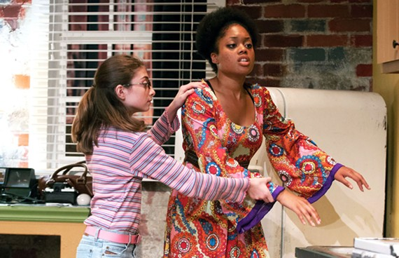 """Wait Until Dark"" Ciara McMillian stars as Susy Hendrix."