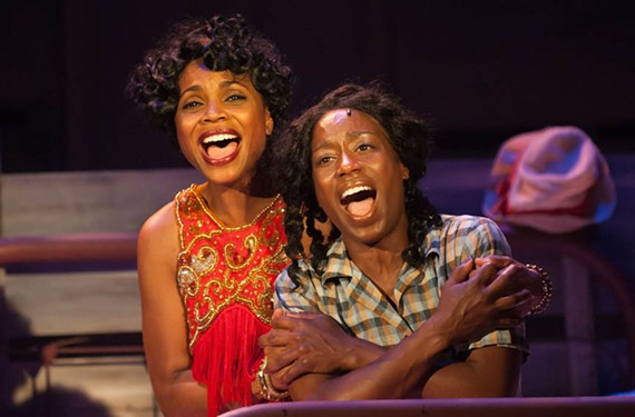 Walk-on newcomer Carolyn Minor-Daughtry, as Shug, and Felicia Curry, as Celie, do exceptional work bringing Alice Walker's famous book to life in one of the year's most satisfying local musicals.