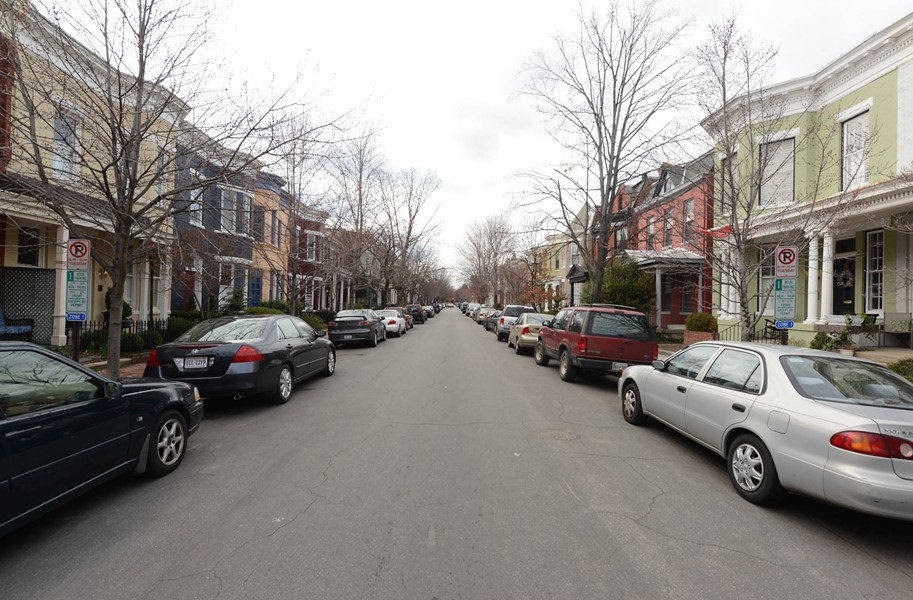 West Avenue is the site of a pilot program that extends parking restrictions for nonresidents. - SCOTT ELMQUIST