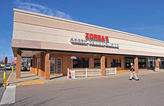 West End favorite Zorba's reopened last week, nearly a year after it was destroyed by fire. - SCOTT ELMQUIST