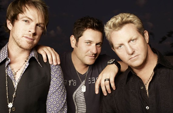 When you gotta go: Rascal Flatts empathizes.