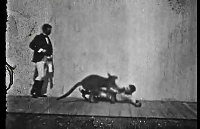 """While he lived here only a short time, Richmond native Birt Acres was a key figure in the early days of filmmaking, a director and inventor responsible for innovative short subjects such as """"Boxing Kangaroo"""" from 1895."""