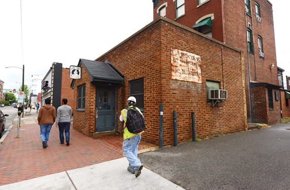 Will the world turn upside down if the cupcakes don't? Virginia Commonwealth University may be buying the famed Sally Bell's Kitchen. - SCOTT ELMQUIST