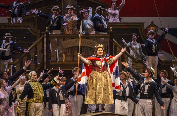 """With a long history of performance in this country, """"H.M.S. Pinafore"""" offers a whimsical satire of Britain's class structure. Virginia Opera performs the classic work for two nights at Richmond CenterStage."""
