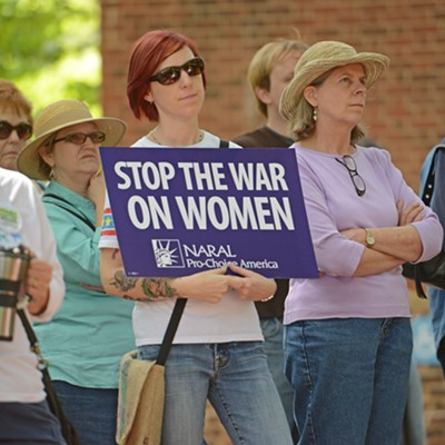 Women Matter Protest - April 27, 2013