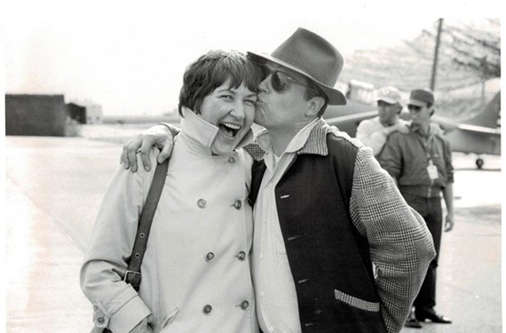 """Women such as Marion Dougherty, here with director George Roy Hill, are the unsung heroes of the history of film casting in the highly acclaimed new HBO documentary, """"Casting By."""" - PHOTO COURTESY OF HBO"""