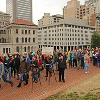 Women's Rights Protest at the Virginia Capitol, March 3, 2012