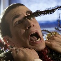 A Christmas tree gets mean in Jason Eisener and Rob Cotterill's Treevenge