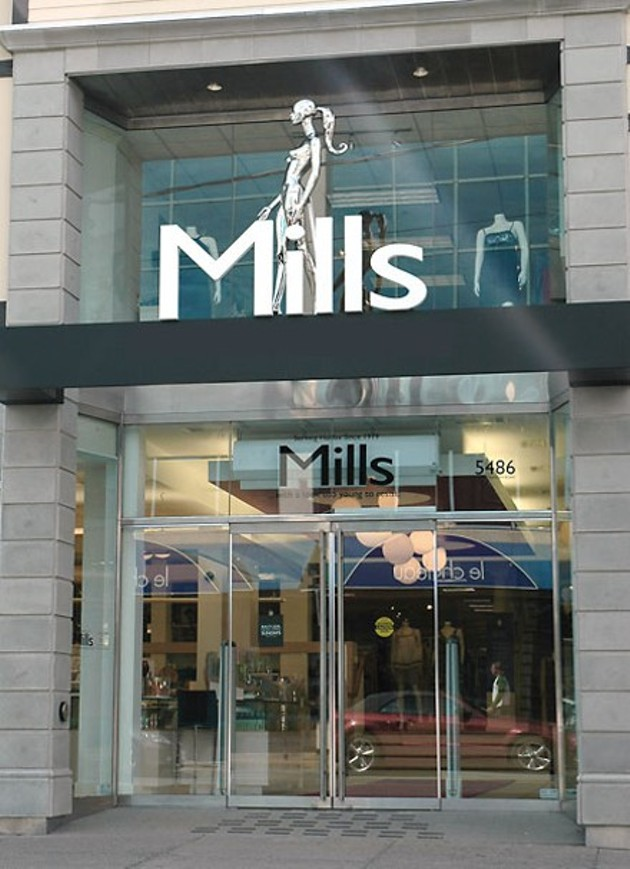 """A new Mills is coming and its tagline is """"Above & Beyond""""."""