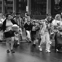 A parade of city pride
