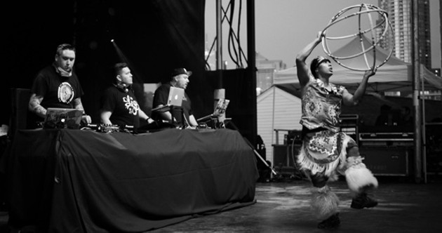 A Tribe Called Red at the 2012 edition of Prismatic.