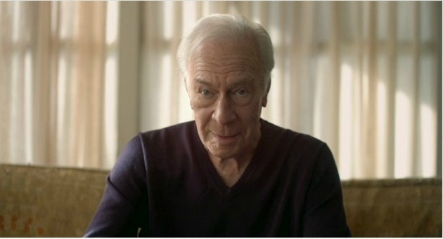 Academy Award-nominee Christopher Plummer plays a man in his 70s coming out, in Beginners.