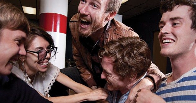 Ain't no party like a Writers' Strike tickle party, 'cause a Writers' Strike tickle party don't stop.