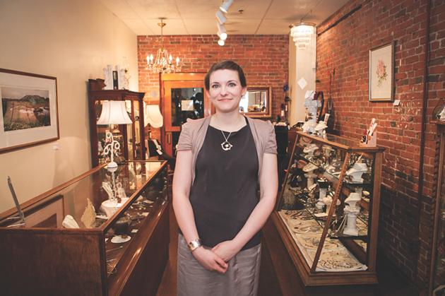 Alexis Mahoney in Boutique Joliette, 2012 - SCOTT BLACKBURN