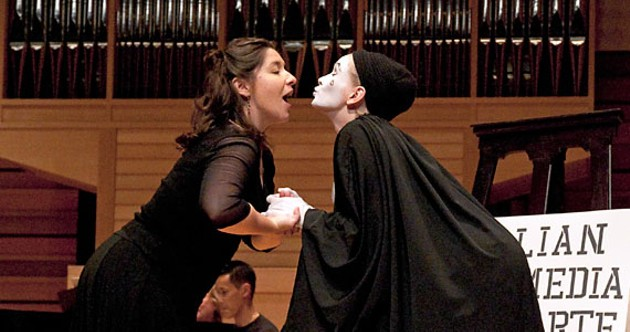 Allison Angelo and Olga Primak as Pierrot evoke nostalgia, comedy and empathy - ADRIA YOUNG