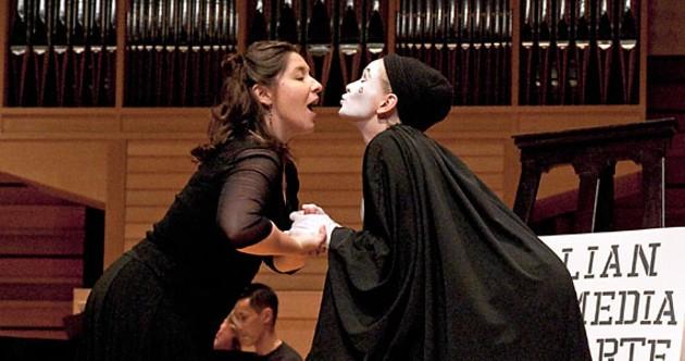 Allison Angelo and Olga Primak as Pierrot evoke nostalgia, comedy and empathy - ADRIA YOUNG