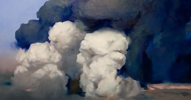 """Ambera Wellmann's """"Volcano 2"""" is standout work."""