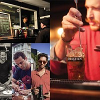 An action-packed weekend with food trucks, Shuckers and cocktail lessons from Jeff Van Horne.