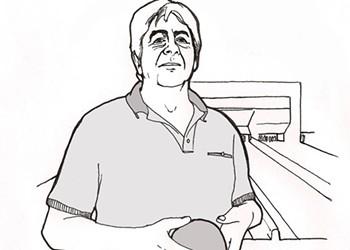 Andre Rochefort: primo bowler