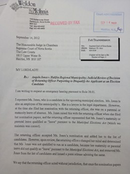 Angela Jones asks the court for judicial review. See the complete document below.