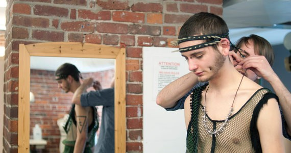 Art and fashion mesh well at NSCAD's Wearable Art Show. - ANGELA GZOWSKI
