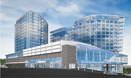 Artist's rendering of the proposed Nova Centre.