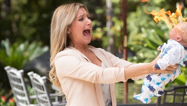 Ashley Tisdale acts her way out of a paper bag in Scary Movie 5