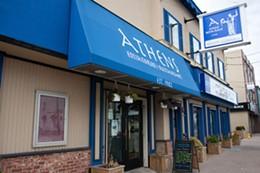 MELISSA DUBÉ - Athens Restaurant, Quinpool Road, Halifax, Nova Scotia